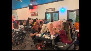 Watch me host my SIP and PAINT party!