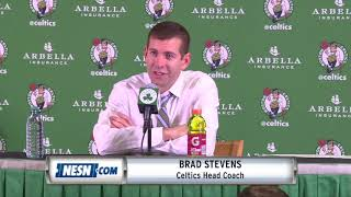 Brad Stevens Celtics vs. Sixers postgame press conference