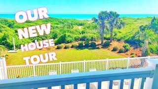 OUR BEACH HOUSE TOUR | Family 5 Vlogs