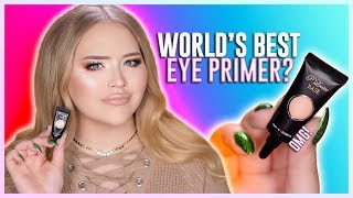 OMG! WORLD'S BEST EYESHADOW PRIMER?? | NikkieTutorials