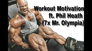 Gym Workout Motivation Music Video ft. Phil Heath