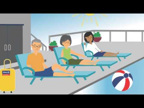 Allianz Travel Insurance Animation