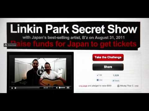 Linkin Park Secret Show for Music For Relief