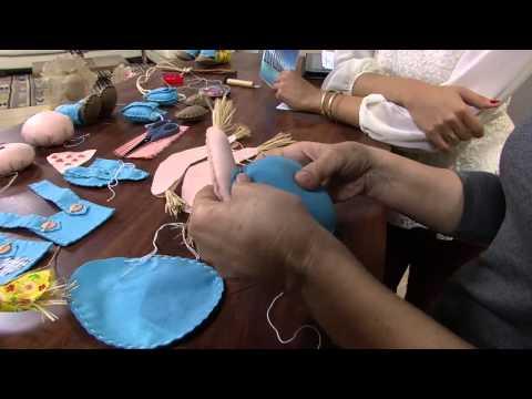 Baixar Mulher.com 13/06/2013 Carmen Silvia - Espantalho em feltro Parte 1/2