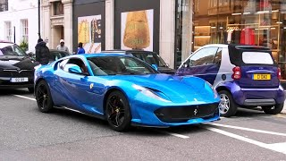 SUPERCARS in LONDON August 2020