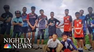 Missing Thai Soccer Team, Coach Found Alive In Cave | NBC Nightly News