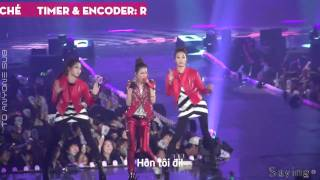 [TAS][Vietsub] Dara - Kiss (ft. CL) [NOLZA CONCERT]