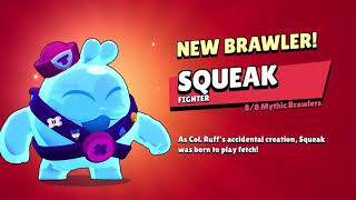 Squeak + Belle & 18 New Skins unlocking animation - Brawl Stars ft.@MoneyCapital - Brawl Stars❤️