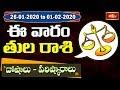 Libra Weekly Horoscope By Dr Sankaramanchi Ramakrishna Sastry | 26 Jan 2020 - 01 Feb 2020