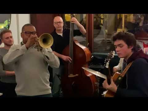 Wynton Marsalis | Cherokee... Jam session at BOZAR Victor Cafe in Brussels, Belgium