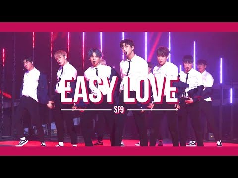 SF9 - 쉽다 (Easy Love) 교차편집 (stage mix)