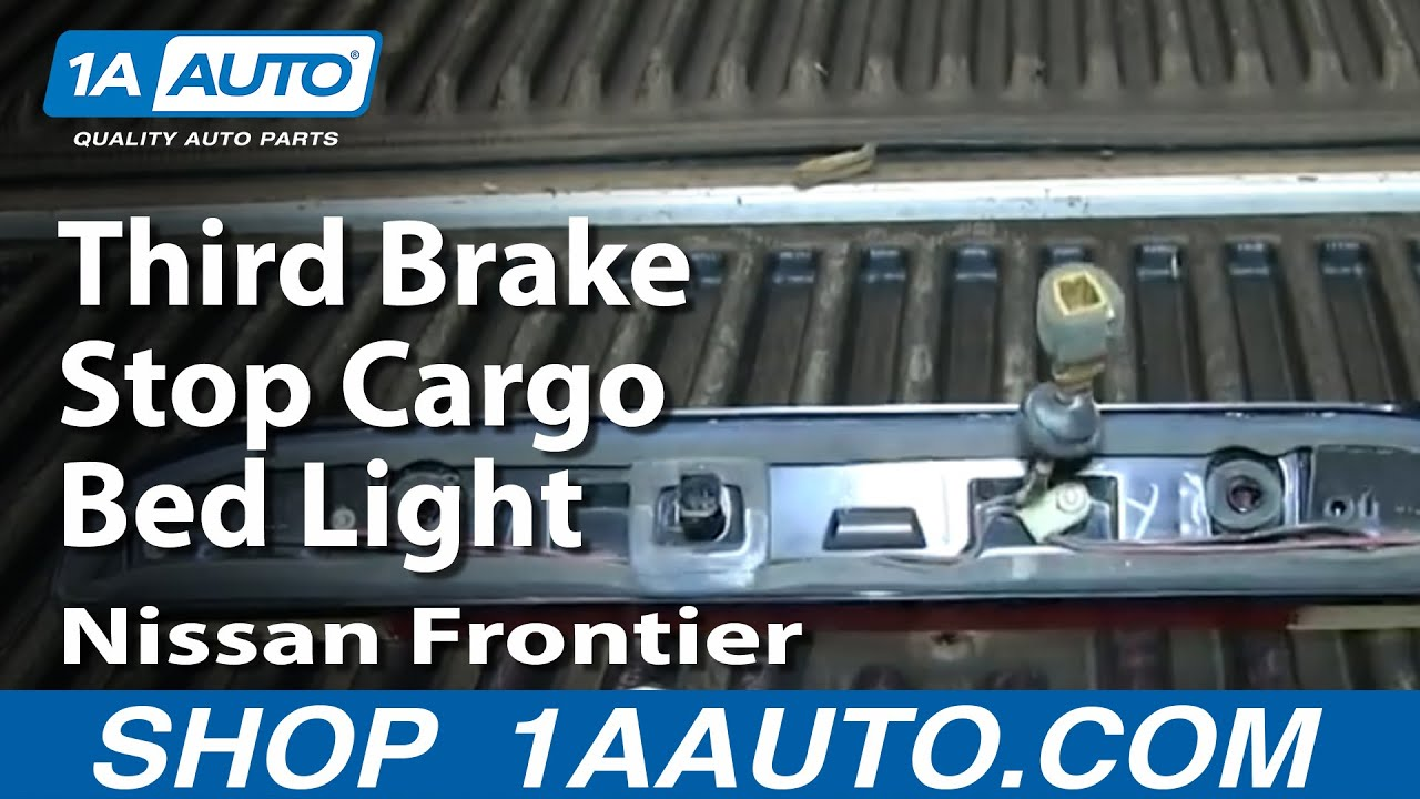 How To Service Replace Third Brake Stop Cargo Bed Light ...