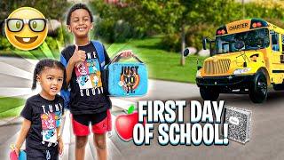 WE'RE BACK‼️CJ & LEGEND GOES BACK TO SCHOOL!!!