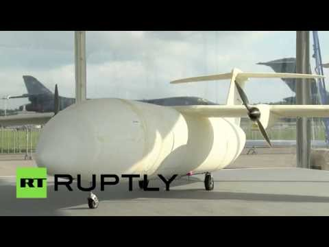 3D printed UAV: Brand new super-cheap Airbus drone unveiled in Berlin