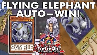 Yu-Gi-Oh! *NEW OCG INSTANT WIN* FLYING ELEPHANT COMING OUT! AUTO-WIN THE DUEL!? ANTI-META DECKS!