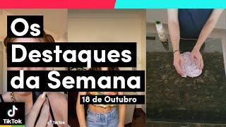 Chegou o dia de DESTAQUES DA SEMANA (18/10) | TikTok Brasil