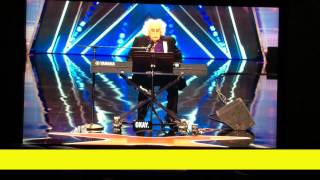 Ray Jessel perform his own song in Americas Got Talent