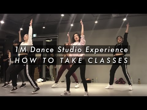 How To Take Classes at 1Million Dance Studio   My Experiences (Turn on CC)