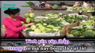 [Karaoke nhac song] Tinh yeu con dau remix (full beat)