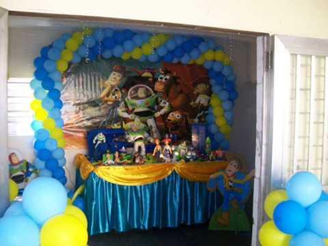 Adornos Con Globos Toy Story Imagui