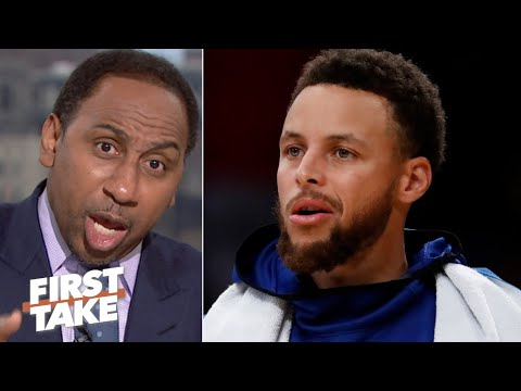 Your name is not the 'Golden State Punks!' – Stephen A. to the Warriors | First Take