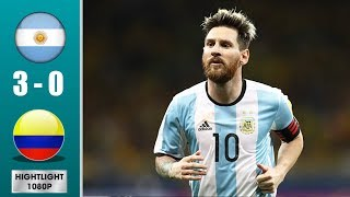 Argentina vs Colombia 3-0 Highlights & Goals - Resumen y Goles (Last Match)