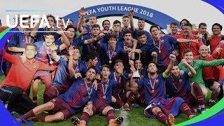 UEFA Youth League final highlights: Chelsea v Barcelona