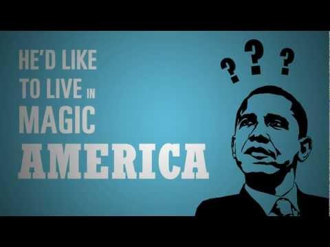 Motion Typography  Magic America - blur