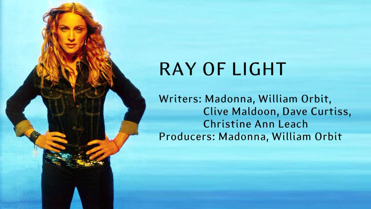Ray Of Light - Instrumental - YouTube