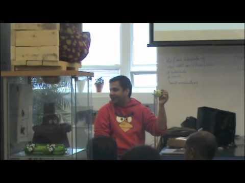 Android Aalto Hackathon July 2011 - Rovio Presentation