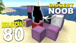 HermitCraft 7: 80 | HERMITCRAFTS BIGGEST NOOB