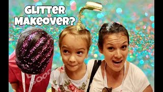 Mother Daughter SPA DAY & GLITTER MAKEOVER | BOYS crash the party!