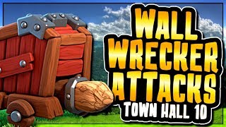THIS ATTACK STRATEGY IS TAKING OVER TOWN HALL 10 | WALL WRECKER ATTACKS | Clash of Clans