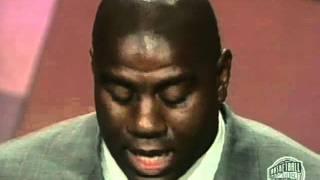 """Earvin """"Magic"""" Johnson's Basketball Hall of Fame Enshrinement Speech"""