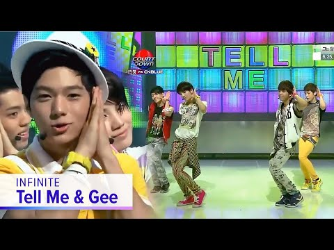 INFINITE - Tell Me & Gee
