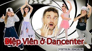 Bố 2 Bé Tây Xinh Đẹp Đột Nhập Dancenter Việt Nam Học Lỏm Lớp Nhảy