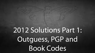 2012 Cicada 3301 Solutions Part 1