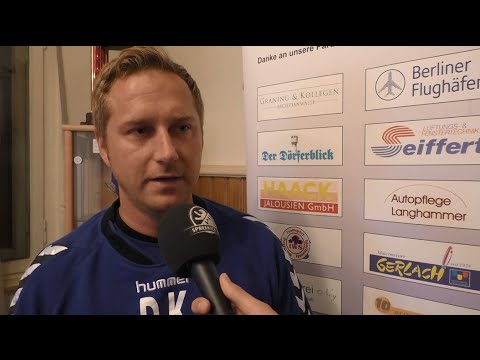 Interview mit Dennis Kutrieb (Trainer VSG Altglienicke) | SPREEKICK.TV