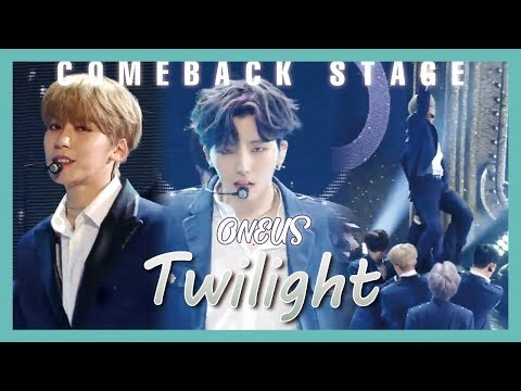 [Comeback Stage] ONEUS - Twilight , 원어스 - 태양이 떨어진다  Show Music core 20190601