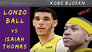 Lonzo Ball vs Isaiah Thomas: Wer wird Point Guard der Lakers?? - KobeBjoern uncut
