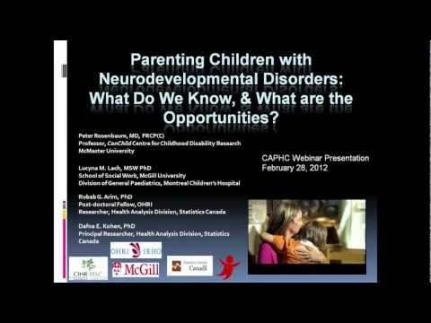 Parenting Matters Part 1 Parenting Children with Neurodevelopmental Disabilities