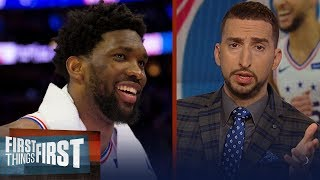 Embiid's impact was key in 76ers win over Raptors to force Game 7 | NBA | FIRST THINGS FIRST