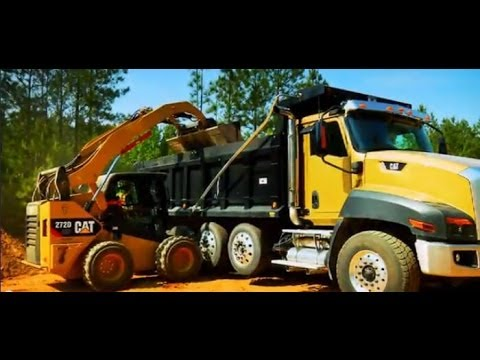 Advanced Display on the Cat D Series Skid Steer, Multi Terrain and Compact Track Loaders   YouTube