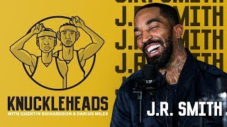 JR Smith joins Knuckleheads with Quentin Richardson & Darius Miles