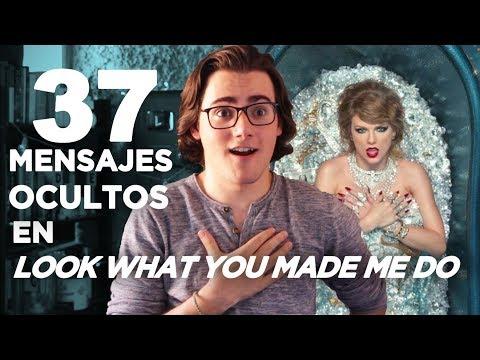 37 MENSAJES OCULTOS en LOOK WHAT YOU MADE ME DO