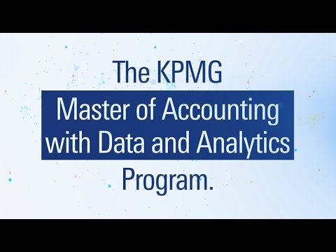 KPMG works with leading business schools to create a bold new approach to learning, integrating traditional accounting and auditing courses with the real world application of technologies and advanced data & analytics capabilities to develop auditors for the data era. Do you have what it takes? Learn more here: https://kpmgmasters.com/