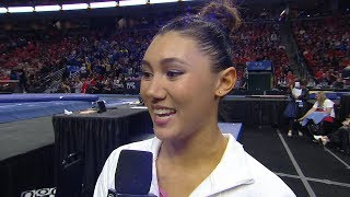 2019 Pac-12 Women's Gymnastics Championship: UCLA's Kyla Ross Says She Was 'in Shock' By Her...