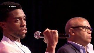 Chadwick Boseman, Reginald Hudlin Talk 'Marshall'