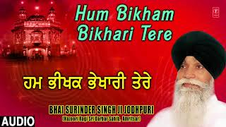 HUM BIKHAM BIKHARI TERE – BHAI SURINDER SINGH