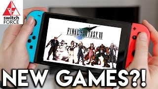 New Switch Games Coming From Square Enix!! Ports + Original Titles!!